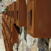 columbarium acier corten