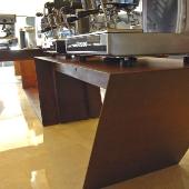Table en acier corten