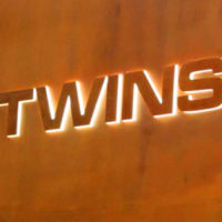 Restaurant TWINS fini avec bz-COR nature mat