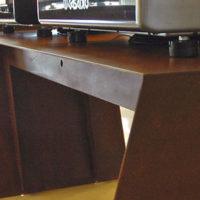 Tables en acier corten